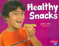 Healthy Snacks book cover