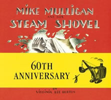 Mike Mulligan and His Steam Shovel book cover