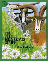 The Three Billy Goats Gruff book cover