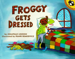 Froggy Gets Dressed book cover