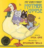 My Very First Mother Goose book cover