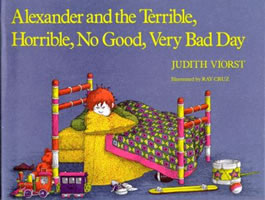 Alexander and the Terrible, Horrible, No Good, Very Bad Day book cover