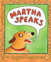 Martha Speaks book cover
