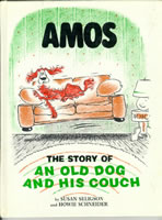 Amos: The Story of an Old Dog and His Couch book cover