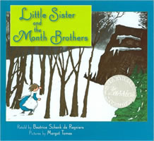 Little Sister and the Month Brothers book cover