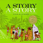 A Story, a Story: An African Tale book cover