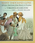 Many Thousand Gone: African-Americans from Slavery to Freedom book cover