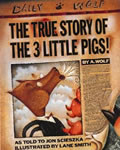 The True Story of the Three Little Pigs book cover