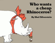 Who Wants a Cheap Rhinoceros? book cover