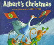 Albert's Christmas book cover