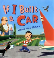 If I Built a Car book cover