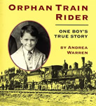 Orphan Train Rider: One Boy's True Story book cover