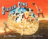 Sixteen Cows book cover