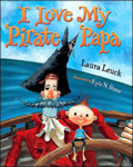 I Love My Pirate Papa book cover