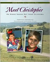 Meet Christopher: An Osage Indian Boy from Oklahoma book cover