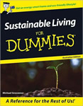 Sustainable Living for Dummies book cover