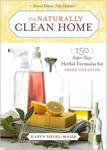 The Naturally Clean Home book cover