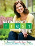 Sara Snow's Fresh Living book cover