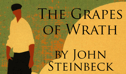 """book cover """"The Grapes of Wrath"""" by John Steinbeck"""
