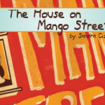 "book cover ""The House on Mango Street"" by Sandra Cisneros"