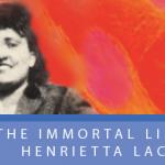 """book cover """" The Immortal Life of Henrietta Lacks"""""""