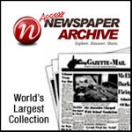 logo for Access Newspaper Archive: World's Largest Collection