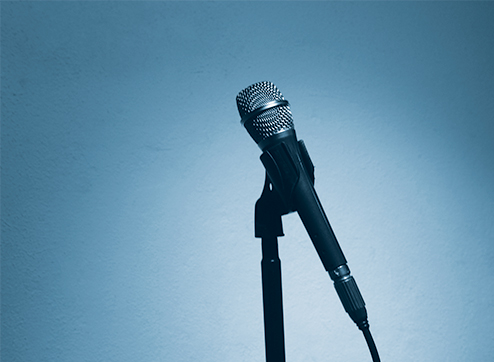 picture of a microphone