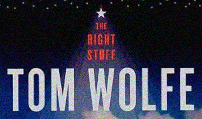"""book cover """" The Right Stuff"""" by Tom Wolfe"""