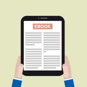 clipart of Ebook reader