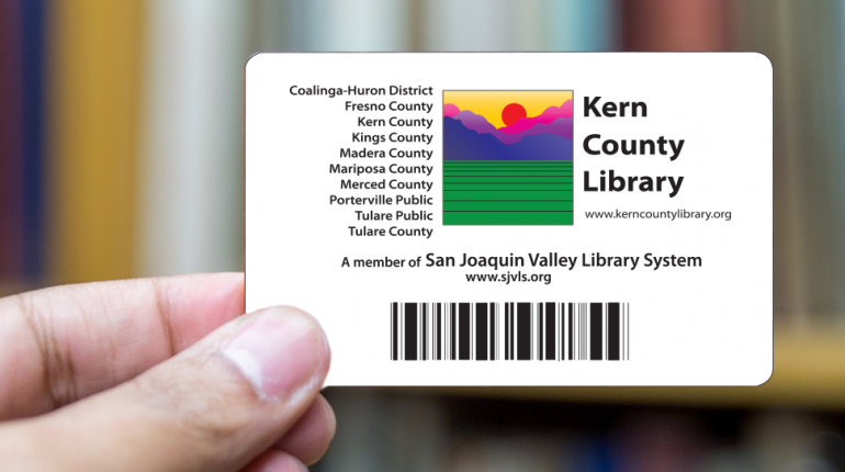I want to kern county library get a library card colourmoves