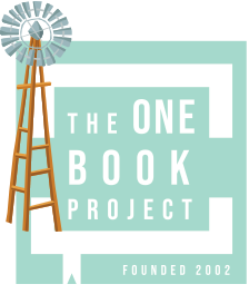 Logo - The One Book Project founded 2002