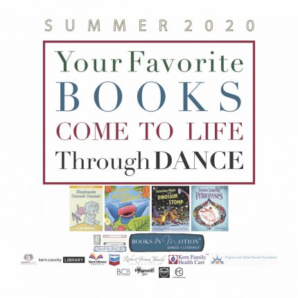 image: summer 2020 your favorite books come to life through dance.