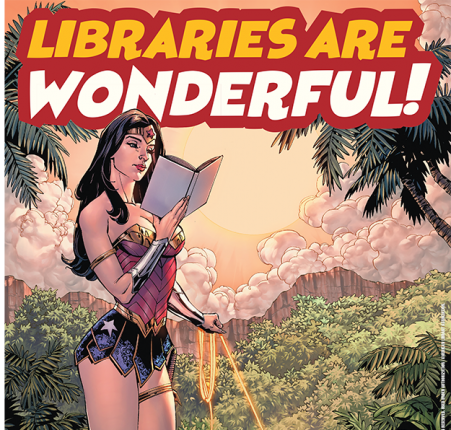 Poster image: Libraries Are Wonderful!
