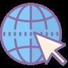 icon of internet symbol