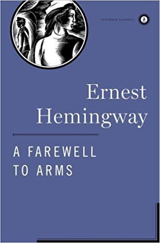 """Book Cover """"A Farewell To Arms"""" by Ernest Hemingway"""