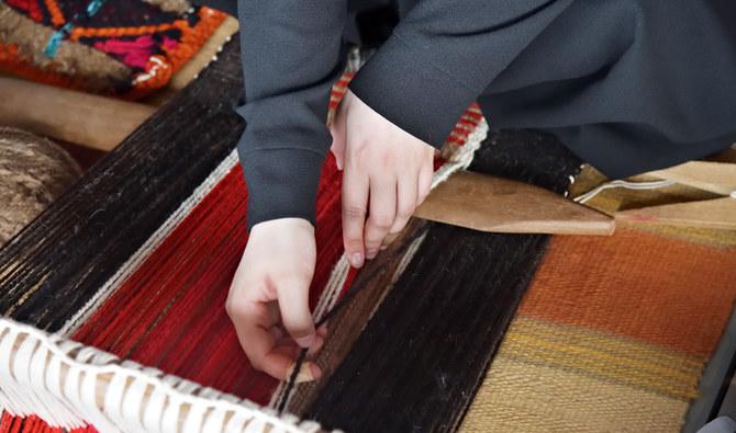 Art Around the World: Saudi Arabia Bedouin Weaving