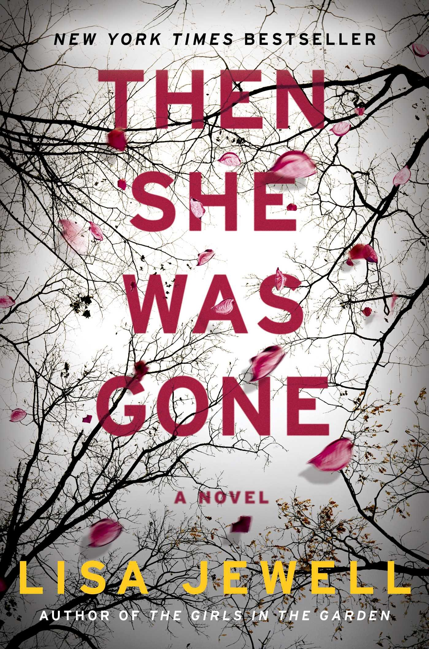 """Book Cover """" Then She Was Gone"""" by Lisa Jewell"""