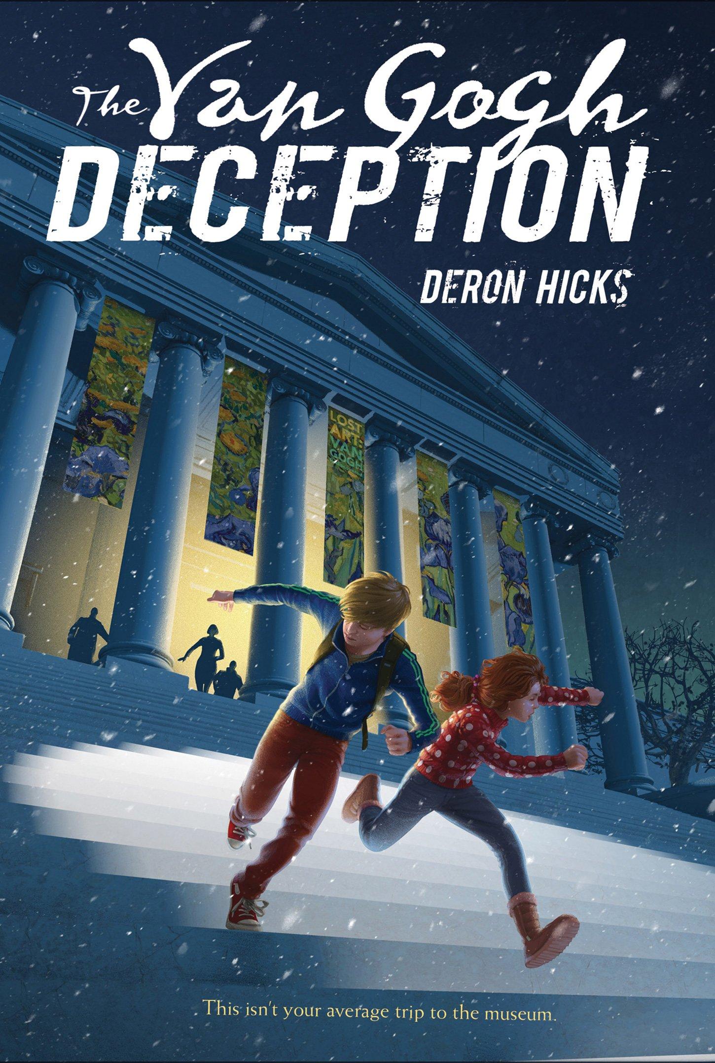 "Book Cover ""The Van Gogh Deception"" by Deron Hicks"