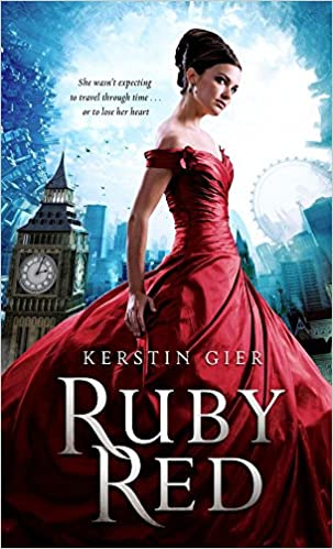 """Book Cover """"Ruby Red"""" by Kerstin Gier"""