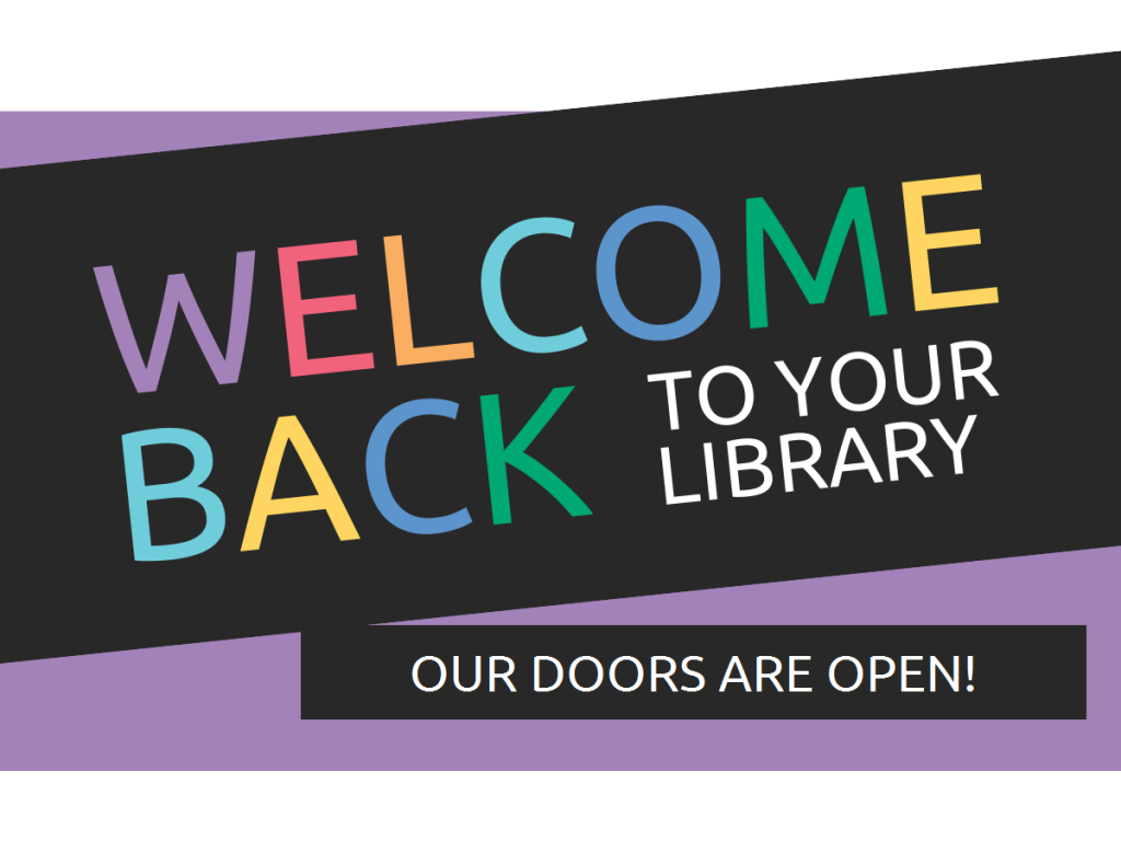 Welcome back to your Kern County Library